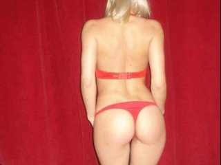 216452 Blondy Amour fille exhib en salon prive